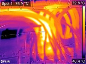 Thermal imaging for early fault detection