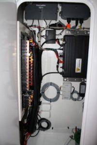 Seawire marine electrical instrumentation installation